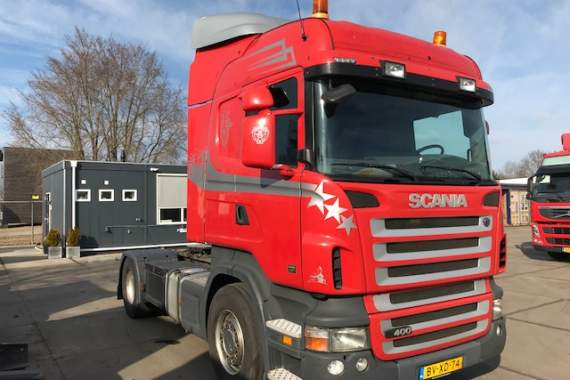 Scania R 400 A 4X2 retarder, 3- pedals Highline