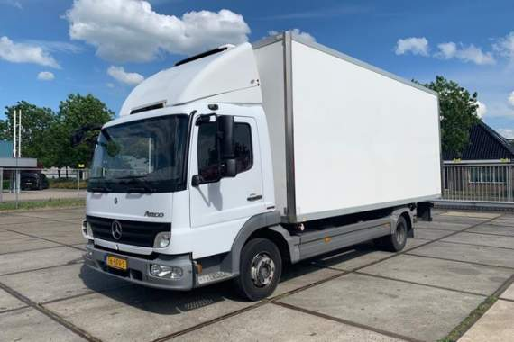 Mercedes-Benz Atego 813 manual E5,Carrier Xarios 500 Taillift