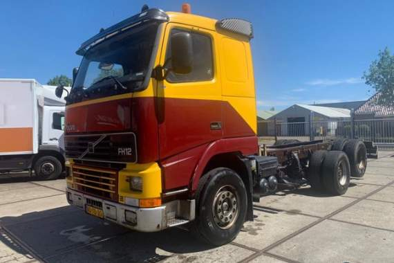Volvo FH12 62RA-80P-Hub reduction- Full Steel - Manual gear